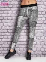 Ecru ocieplane spodnie dresowe                                   zdj.                                  1
