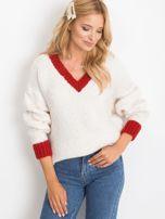 Ecru sweter Drive                                  zdj.                                  1