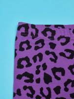 Fioletowe legginsy dla dziewczynki nadruk MY LITTLE PONY                                                                          zdj.                                                                         4