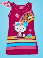 Jasnoróżowa sukienka dla dziewczynki bez rękawów HELLO KITTY                                                                           zdj.                                                                         1