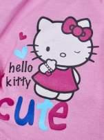 Fuksjowe szorty dla dziewczynki motyw HELLO KITTY                                                                          zdj.                                                                         4