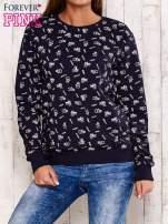 Granatowa bluza motyw buldożków                                  zdj.                                  1