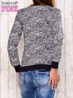 Granatowa bluza z motywem sowy