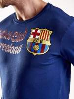 Granatowa bluzka męska FC BARCELONA                                  zdj.                                  8