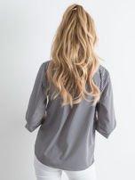 Granatowa bluzka w paski                                  zdj.                                  3