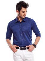 Granatowa koszula męska                                   zdj.                                  8