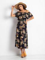Granatowa sukienka Excellent                                  zdj.                                  4