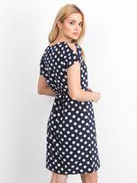 Granatowa sukienka Peyton                                  zdj.                                  2