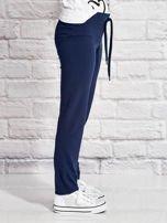Granatowe spodnie dresowe dla dziewczynki LITTLE PONY                                  zdj.                                  3