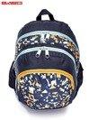 Granatowy plecak szkolny w kolorowe wzory                                  zdj.                                  5
