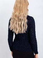 Granatowy sweter Jessica                                  zdj.                                  2