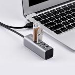 HOCO HB1 Hub 4 x USB 2.0 do ładowania oraz transferu danych                                  zdj.                                  2