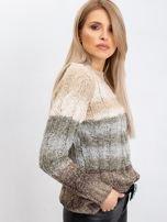 Jasnobeżowy sweter Nevermind                                  zdj.                                  3