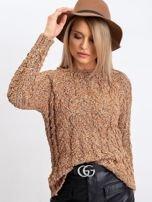 Jasnobrązowy sweter Erika                                  zdj.                                  5