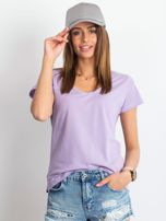 Jasnofioletowy t-shirt Square                                  zdj.                                  1