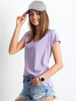 Jasnofioletowy t-shirt Square                                  zdj.                                  3