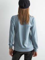 Jasnoniebieska bluza damska basic                                  zdj.                                  2