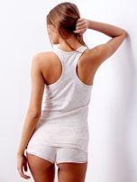 Jasnoróżowa piżama w grochy                                  zdj.                                  2