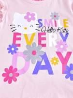 Jasnoróżowa tunika dla dziewczynki z falbankami HELLO KITTY                                                                           zdj.                                                                         4