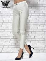 Jasnoszare spodnie rurki skinny                                  zdj.                                  1