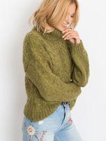Khaki sweter Heavenly                                  zdj.                                  3