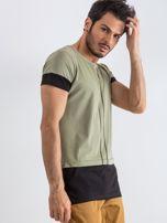 Khaki t-shirt męski Narcos                                  zdj.                                  3