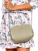 Khaki torba z dzielonymi komorami                                  zdj.                                  2