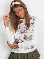 Klasyczna bluza w kwiatowy print                                  zdj.                                  3