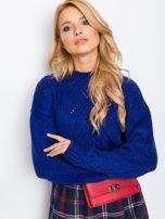 Kobaltowy sweter Victoria                                  zdj.                                  5