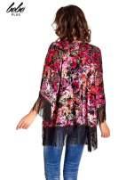 Kwiatowe kimono z frędzlami                                  zdj.                                  5