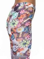 Kwiatowe legginsy z nadrukami                                                                           zdj.                                                                         5
