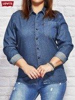 LEVIS Niebieska jeansowa koszula                                  zdj.                                  1