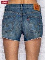 LEVIS Niebieskie jeansowe szorty                                   zdj.                                  2