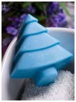 LaQ Mydełko Choinka - niebieski / Zapach - wata cukrowa BEZ SLS i SLES                                  zdj.                                  4
