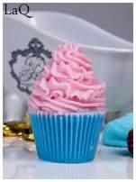LaQ Mydełko Duża Muffinka - różowo-niebieski / Zapach - truskawka + wata cukrowa BEZ SLS i SLES                                  zdj.                                  1