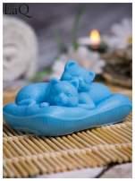 LaQ Mydełko Koty na poduszce - niebieski / Zapach - wata cukrowa BEZ SLS i SLES                                  zdj.                                  5