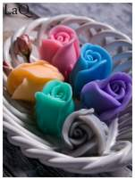 LaQ Mydełko Kwiat róży - fioletowy / Zapach - lawenda BEZ SLS i SLES                                  zdj.                                  3