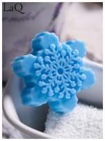 LaQ Mydełko Śnieżynka - niebieski / Zapach - wata cukrowa BEZ SLS i SLES                                  zdj.                                  3