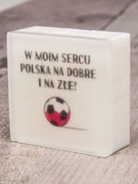LaQ Mydełko W MOIM SERCU POLSKA.... bez SLS i SLES
