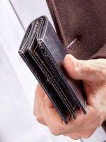 Męski portfel czarny ze skóry                                  zdj.                                  10