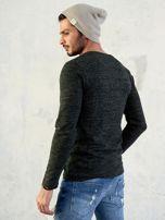 Męski sweter khaki                                  zdj.                                  4