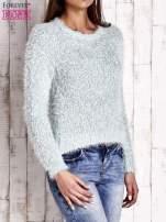 Miętowy sweter fluffy                                  zdj.                                  3