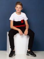 Modułowy t-shirt dziecięcy z suwakami                                  zdj.                                  3