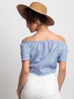 Niebieska bluzka Ladylike                                  zdj.                                  2