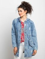 Niebieska kurtka jeansowa Blessing                                  zdj.                                  1