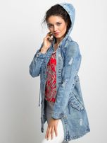 Niebieska kurtka jeansowa Blessing                                  zdj.                                  5
