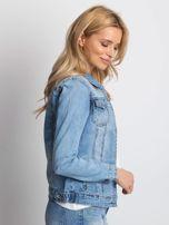 Niebieska kurtka jeansowa Mileage                                  zdj.                                  3