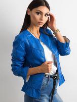 Niebieska kurtka z falbanami                                  zdj.                                  5