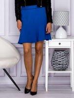 Niebieska spódnica z falbaną                                  zdj.                                  1