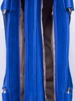 Niebieska torba miejska na ramię                                  zdj.                                  5
